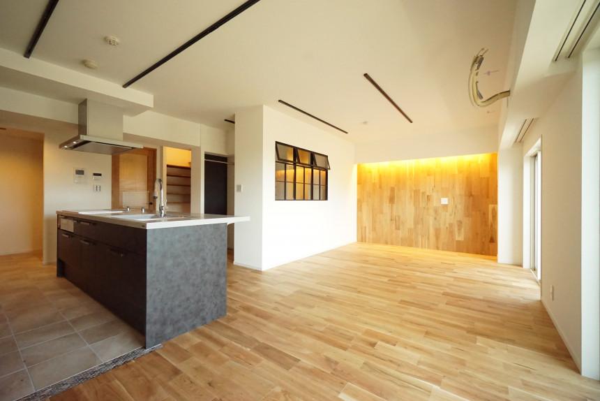 適材適所の収納たっぷりのマンションリノベーション