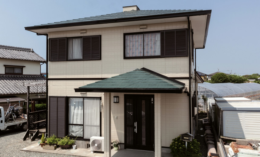 愛知県豊橋市 外壁・屋根塗装『前回と同じように安心して任せることができました』